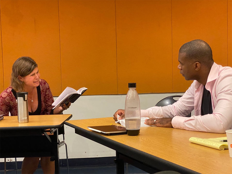Untitled Othello table read